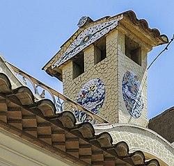Ceràmica. Rajola de València a l'espai públic de Benifaió (País Valencià) 5.jpg
