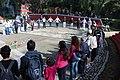 Ceremonia conmemorativa 30 años de los Sismos de 1985 Reloj de Sol, Tlatelolco. 14.JPG