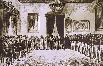 Muhammad II ibn al-Husayn - The proclamation of the Fundamental Pact in the Bardo Palace on 10 September 1857.