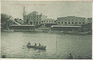 Carlos Anwandter - Cerveceria Anwandter, Valdivia, Chile, circa 1900