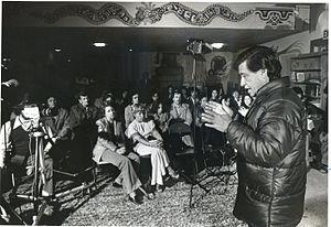 Colegio Cesar Chavez - Cesar Chavez lecturing at Colegio Cesar Chavez, 1977