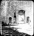 Château de Bonaguil, grande porte dentrée et guichet intérieur, 30 juin 1902 (7418806526).jpg
