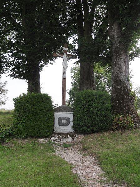 Chéry-lès-Rozoy (Aisne) croix de chemin