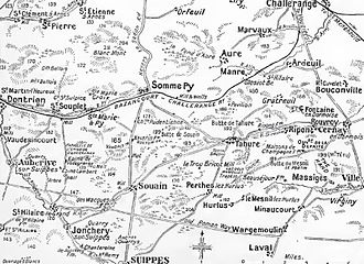 Second Battle of Champagne - Champagne battlefront, 1915