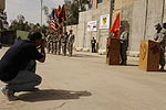 Change of Authority Ceremony at Joint Service Station War Eagle, Baghdad, Iraq DVIDS159743.jpg