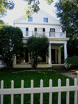 National Register of Historic Places listings in Somerville, Massachusetts - Image: Charles Adams Woodbury Locke House Somerville MA