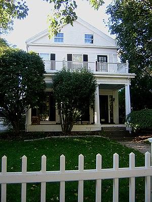 Charles Adams-Woodbury Locke House - Image: Charles Adams Woodbury Locke House Somerville MA