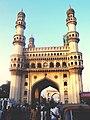 Charminar of Hyderabad, The city of Nawabs.jpg