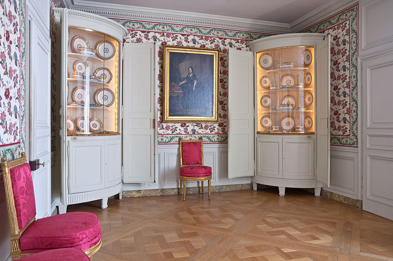 Fichier:Chateau Versailles petit appartement Reine salle a manger.jpg