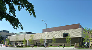 Chazen Museum of Art - Image: Chazen Museum of Art exterior