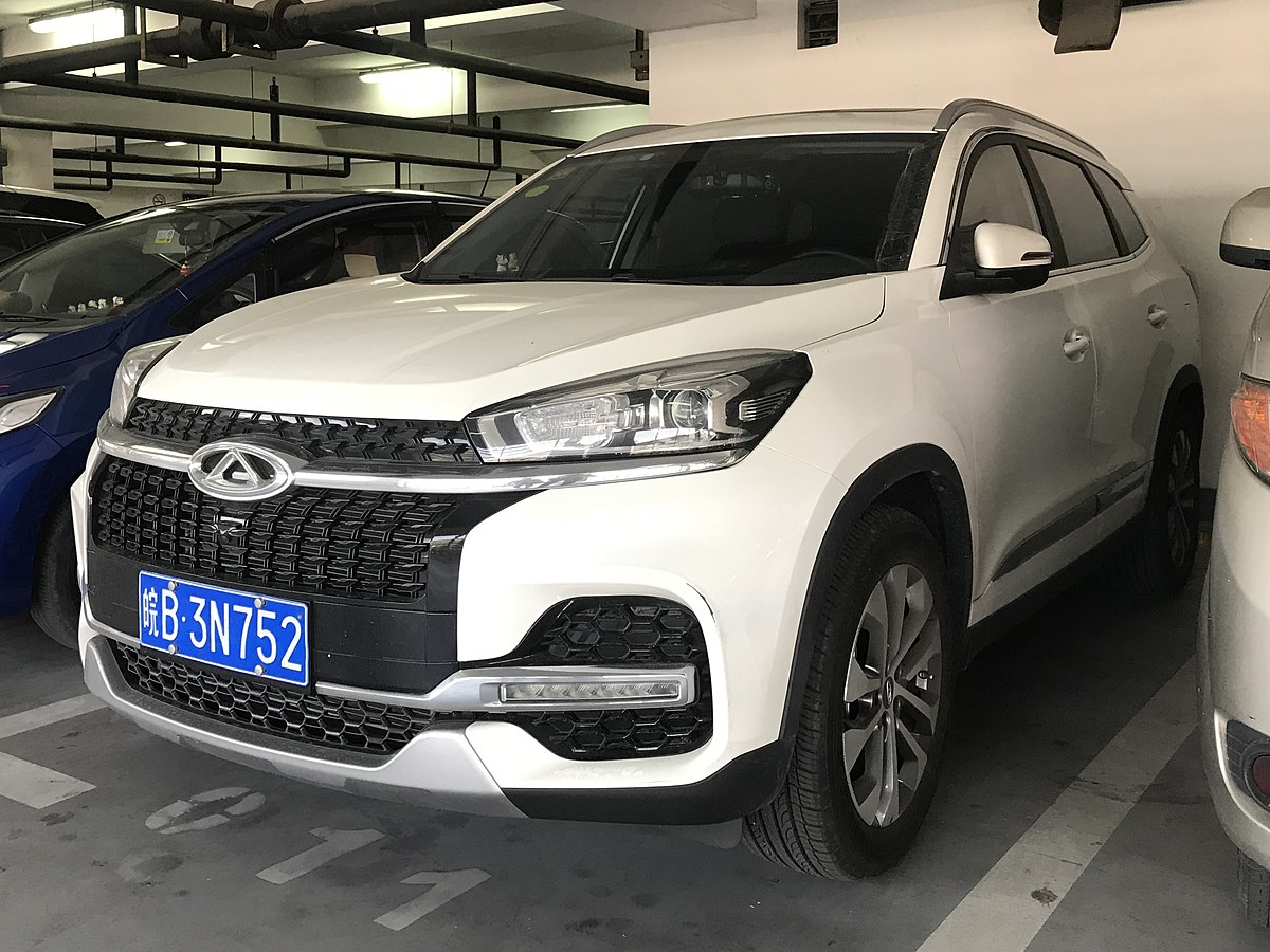 Px Chery Tiggo on 2018 suv crossover