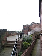Chester Castle Ramparts - geograph.org.uk - 491646