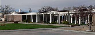 Cheyenne County, Nebraska - Image: Cheyenne County, Nebraska courthouse 3