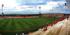 Chiangrai United F.C. - Singha Stadium in 2012.