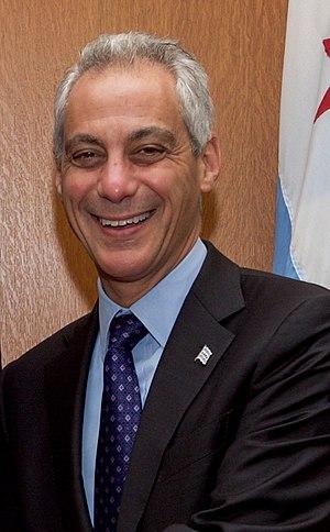 Chicago mayoral election, 2011 - Image: Chicago Mayor Emanuel 2016