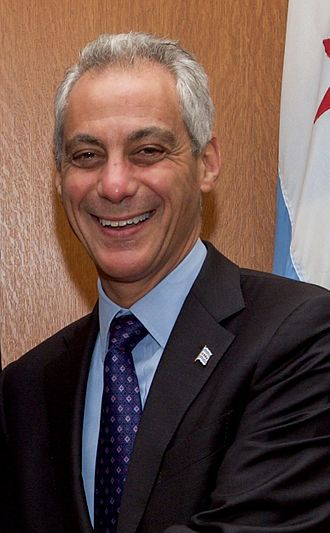 Chicago mayoral election, 2011 - Image: Chicago Mayor Emanuel 2016