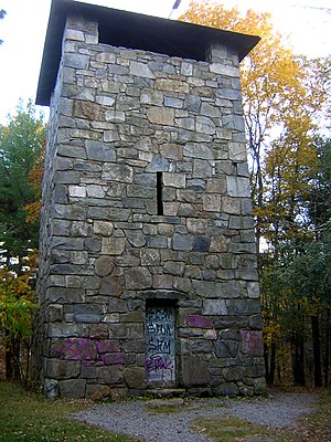 Blue Hills Reservation - Image: Chickatawbut Observation Tower Quincy MA 02