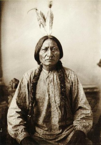 Great Sioux War of 1876 - Sitting Bull, a Hunkpapa, was one of the principal Sioux leaders.