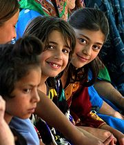 Tajik children