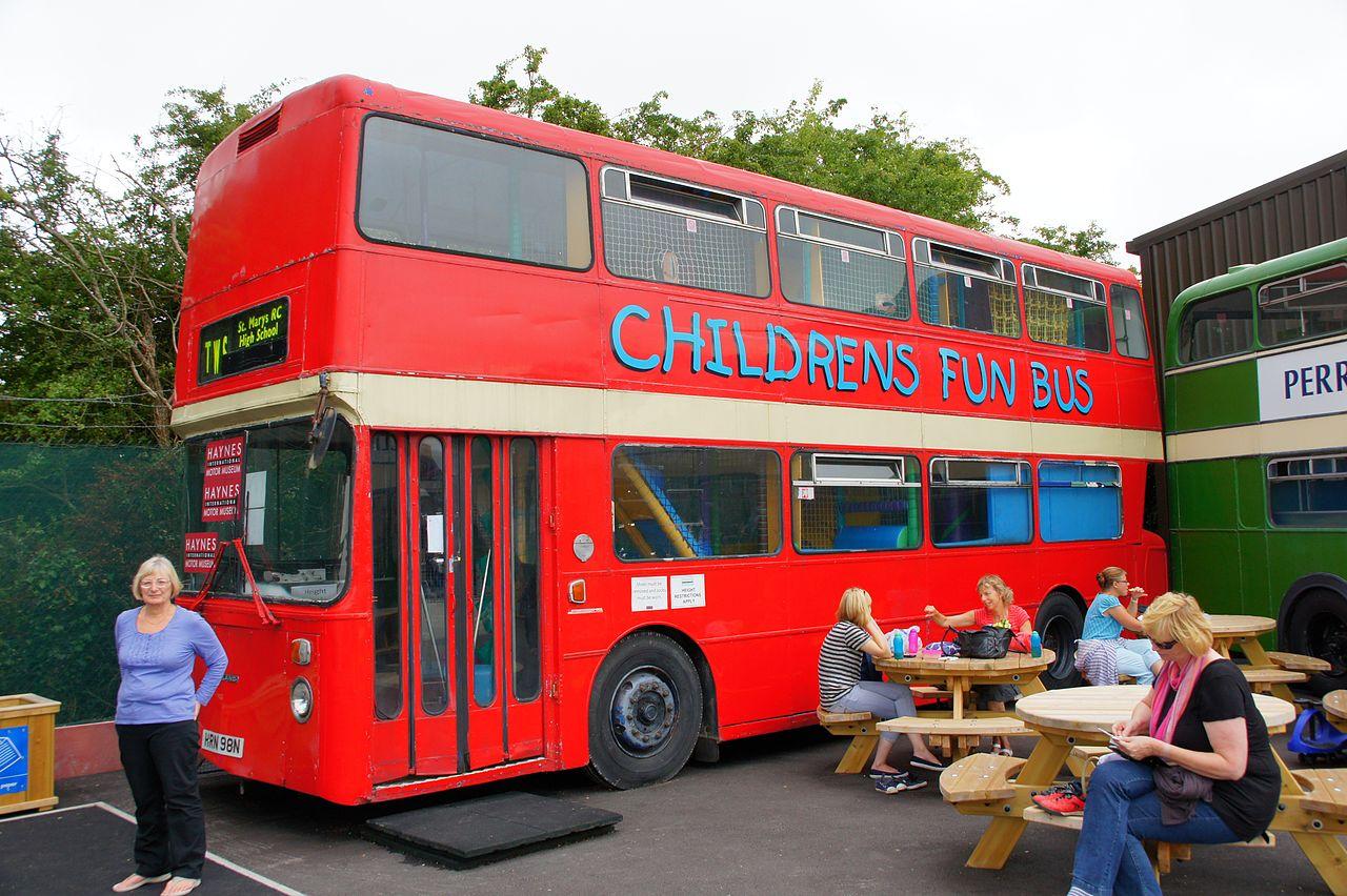File Childrens Fun Bus  Hrn 98n   Haynes International Motor Museum  31 July 2013 Jpg