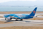 China Southern Airlines ,CZ390 ,Boeing 787-81B ,B-2727 ,Departed to Guangzhou ,Kansai Airport (16776219936).jpg