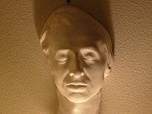 Chopins Totenmaske von Auguste Clésinger. Sammlung von Jack Gibbons[63] (Quelle: Wikimedia)