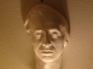 Health of Frédéric Chopin - Image: Chopin death mask (collection of Jack Gibbons)
