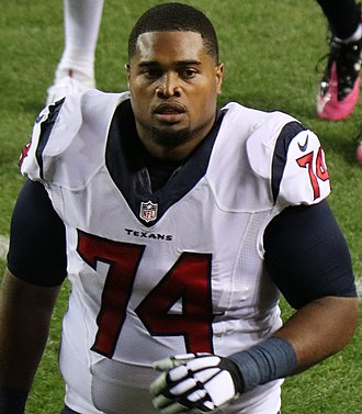 Chris Clark (American football) - Clark with the Texans in 2016.