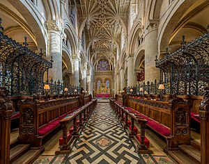 Christ Church Cathedral, Oxford - The choir of Christ Church Cathedral, Oxford