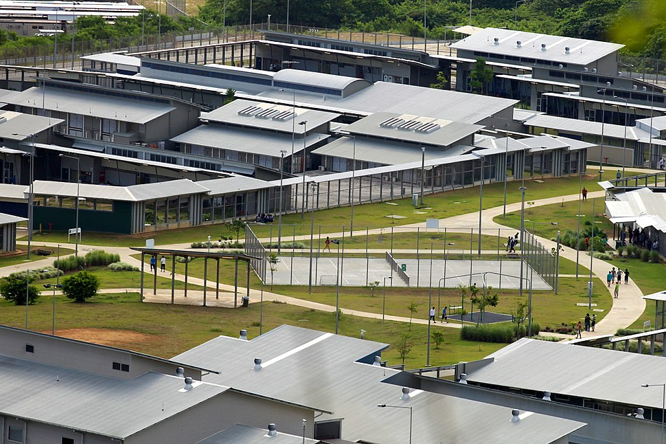 Christmas Island Immigration Detention Centre and the Lilac compound (5775019842)