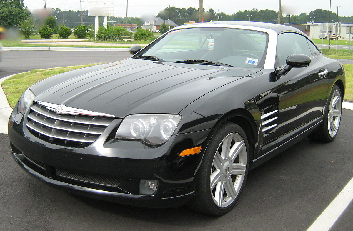 Chrysler Crossfire on alfa romeo sportiva