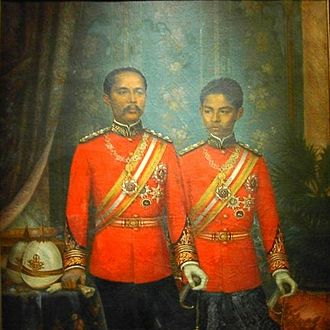 Gustave Rolin-Jaequemyns - King Rama V and the Crown-prince Vajirunhis