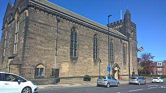 Sir James Knott, 1st Baronet - Image: Church of St James and St Basil, Fenham, Newcastle upon Tyne