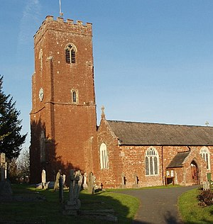 Exminster - Image: Church of St Martin of Tours, Exminster