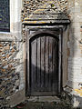 Church of St Mary Hatfield Broad Oak Essex England - rood loft external door.jpg