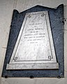 Church of St Mary Little Laver Essex England - Anna Maria Meyer wall monument memorial.jpg