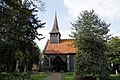 Church of St Mary and St Christopher's Church, Panfield - church from south.jpg