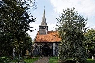 Panfield village in United Kingdom