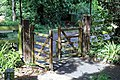 Church of St Mary the Virgin, Woodnesborough, Kent - entrance gate.jpg