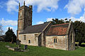 Church of St Nicholas and St Mary, Stowey from south adj.JPG