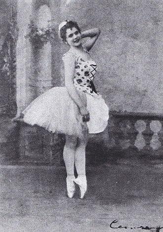 Pierina Legnani - Image: Cinderella title role Pierina Legnani 1893