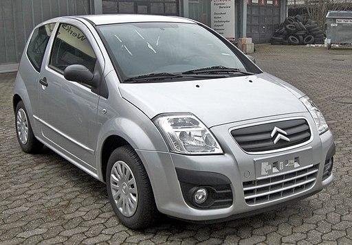 Citroën C2 front-1