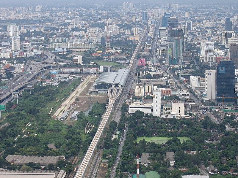 Transport Aeroport Bangkok Vers Centre Ville Bangkok Siam