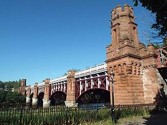 City Union Bridge - City Union Railway Bridge. Glasgow, Scotland.