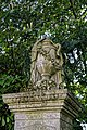 City of London Cemetery and Crematorium ~ monumental urn and plinth 02.jpg