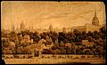 City of Oxford. Watercolour drawing, 1784? Wellcome V0014222.jpg