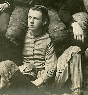 Clarence Herschberger - Clarence Bert Herschberger, University of Chicago Men's Football Team, 1894