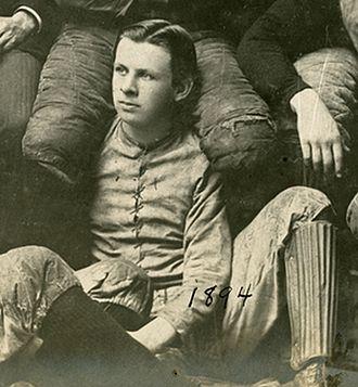 Clarence Herschberger - Clarence Bert Herschberger, University of Chicago Men's Football Team, 1894