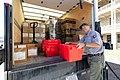 Clark loading the truck for a park courier run (48266880052).jpg