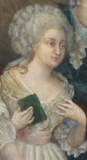 Claudine Picardet - Portrait detail, believed to be Mme. Picardet